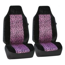 seat covers FB126102 2 tone purple leopard 1