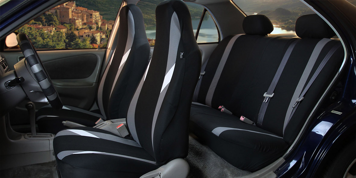 Supreme Modernistic Seat Covers - Front banner