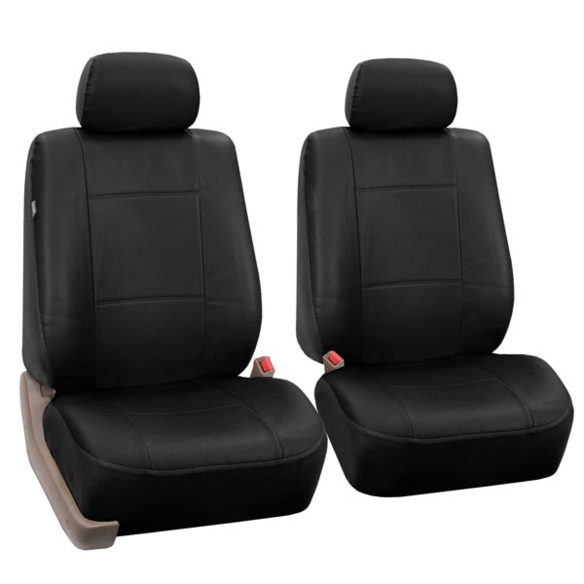 Premium PU Leather Seat Covers - Front