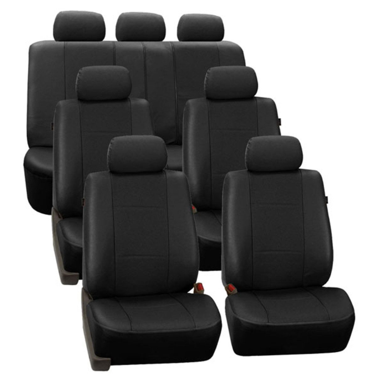 88-PU007217BLACK seat cover 1