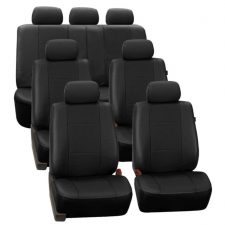 PU007217BLACK suv seat cover 1