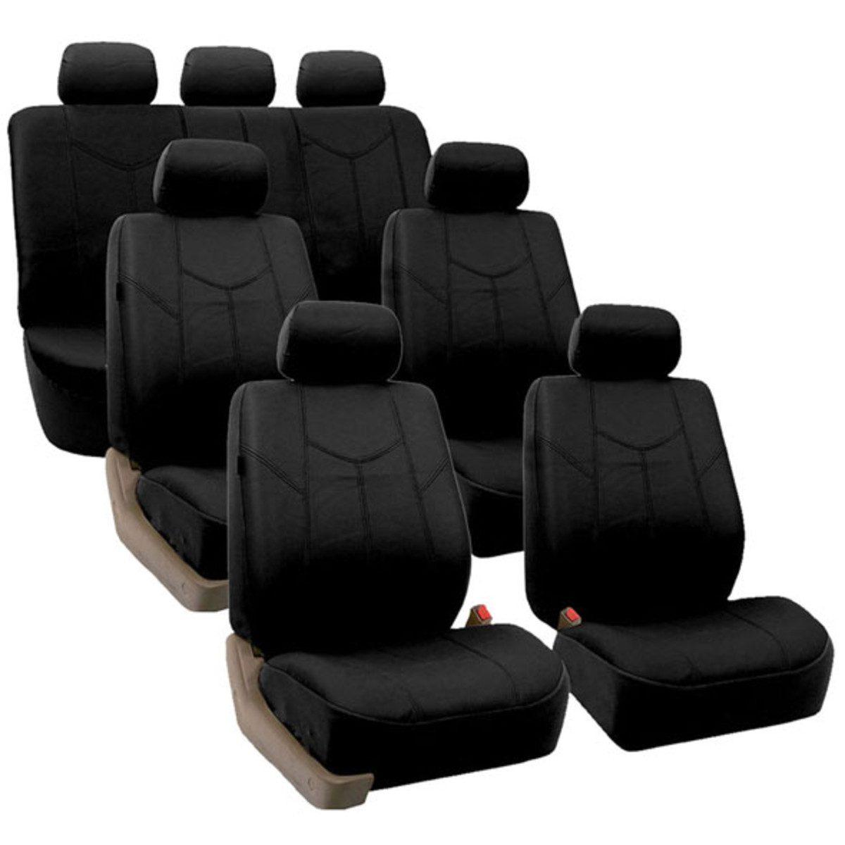 88-PU009217BLACK seat cover 1