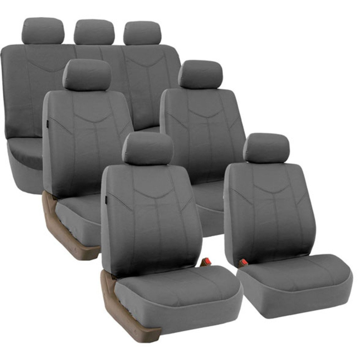 88-PU009217GRAY seat cover 1