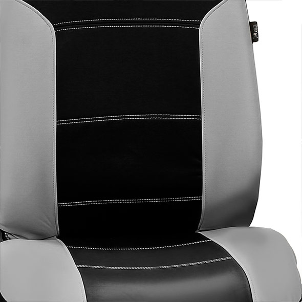 Royal Leather Seat Covers Full Set material