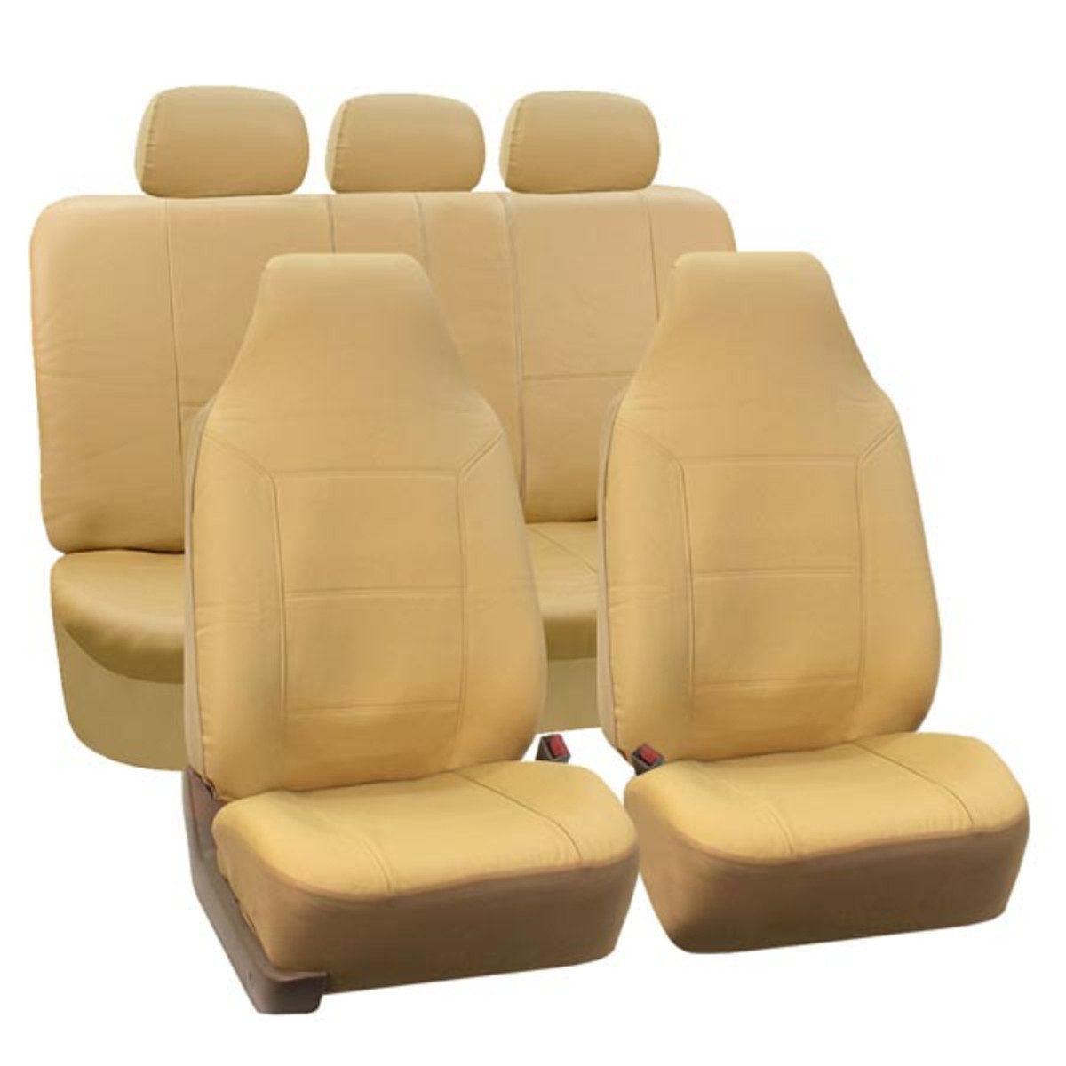 88-PU103115_beige seat cover 1