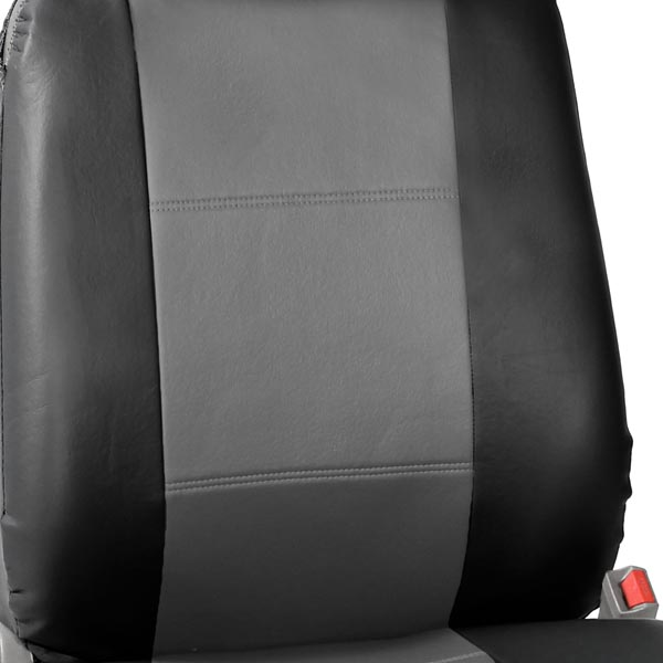 Built-in Seat Belt Compatible PU Leather Seat Covers material