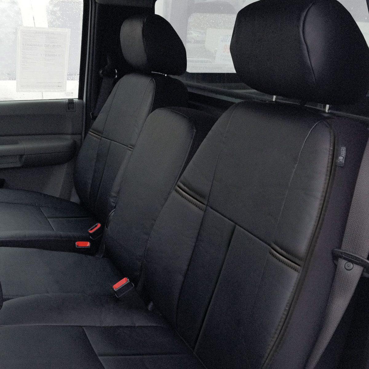 Custom Chevy Silverado Leatherette Seat Covers Full Set