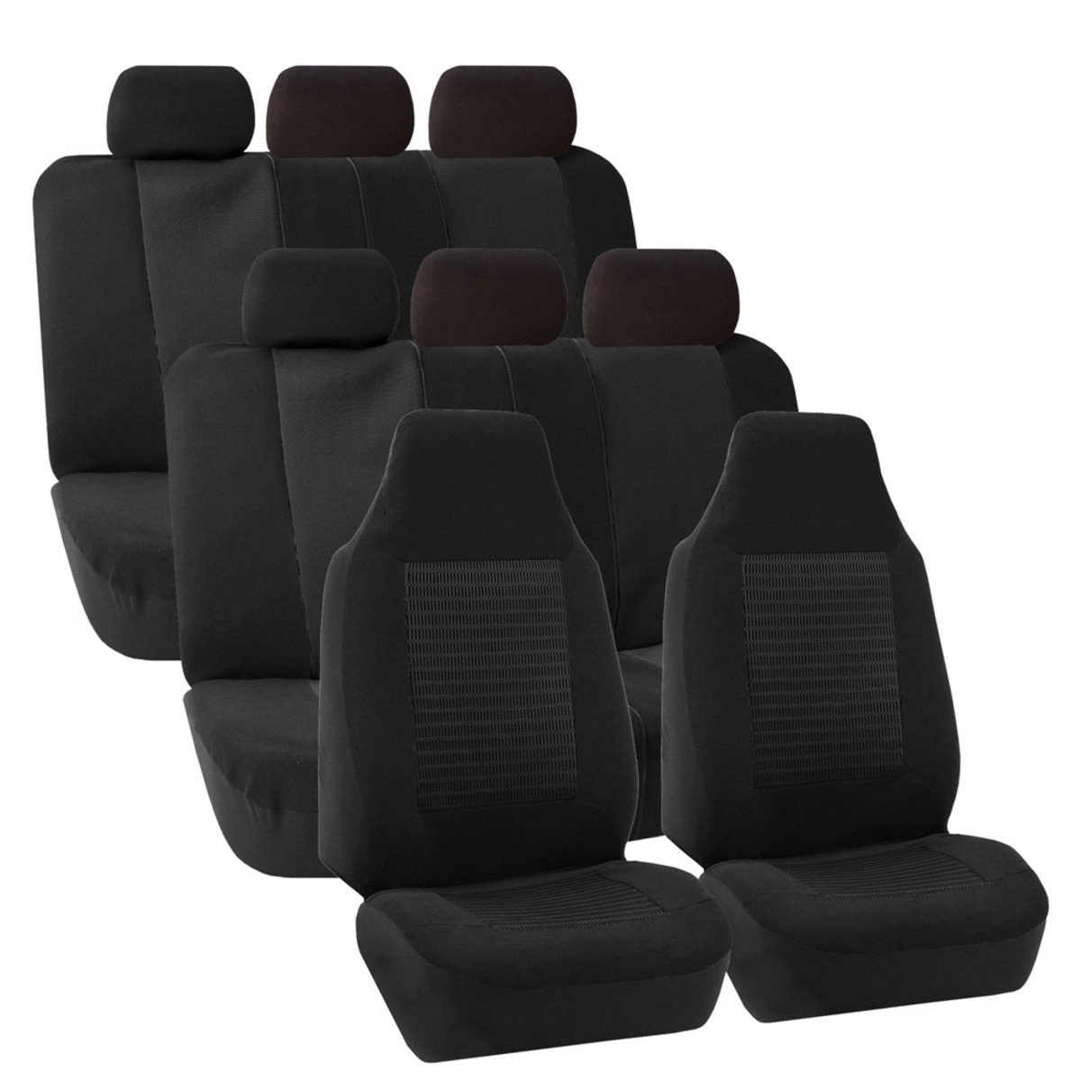 FB107128BLACK suv seat cover