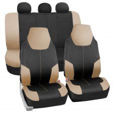 FB116 beige black seat covers
