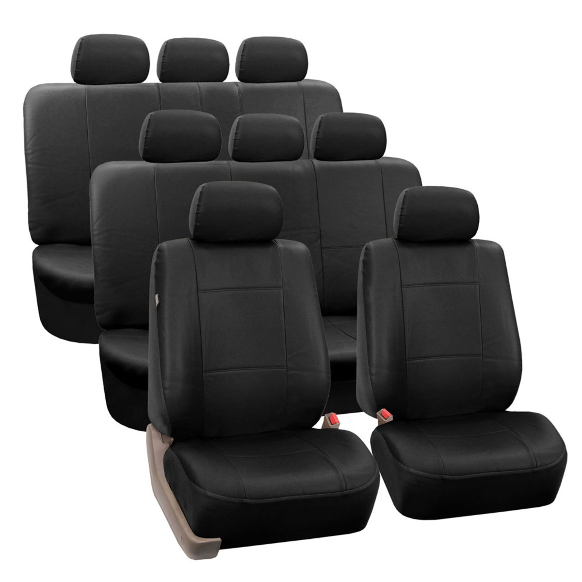 PU002128 BLACK SUV seat cover