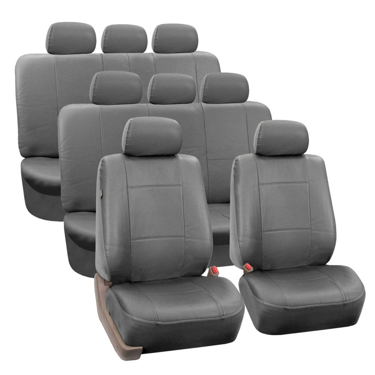 PU002128SOLIDGRAY seat cover