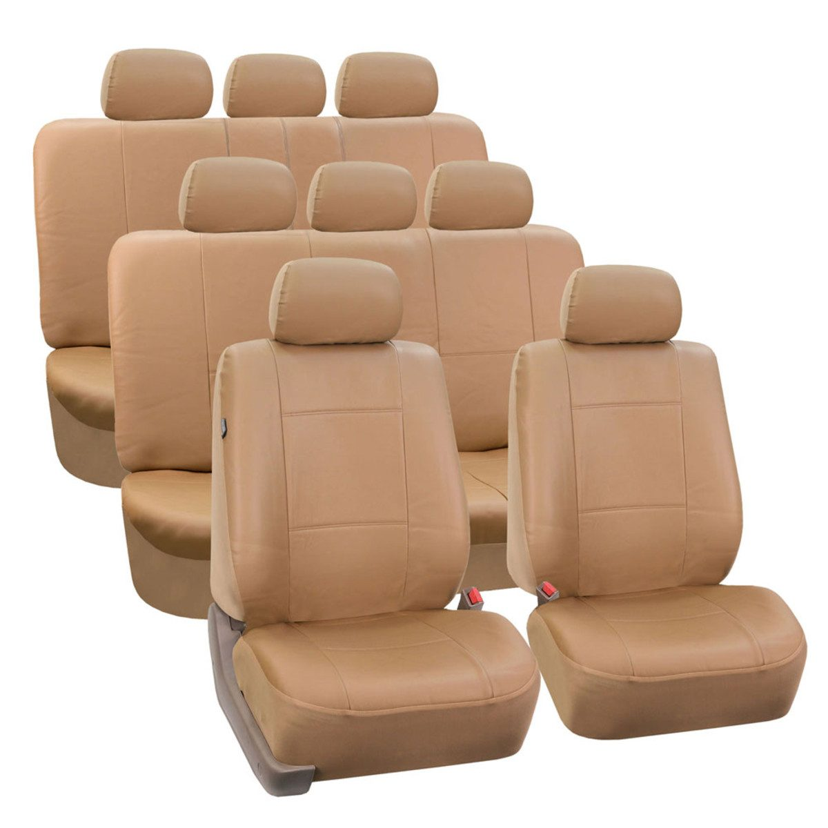 PU002128TAN_tan seat cover