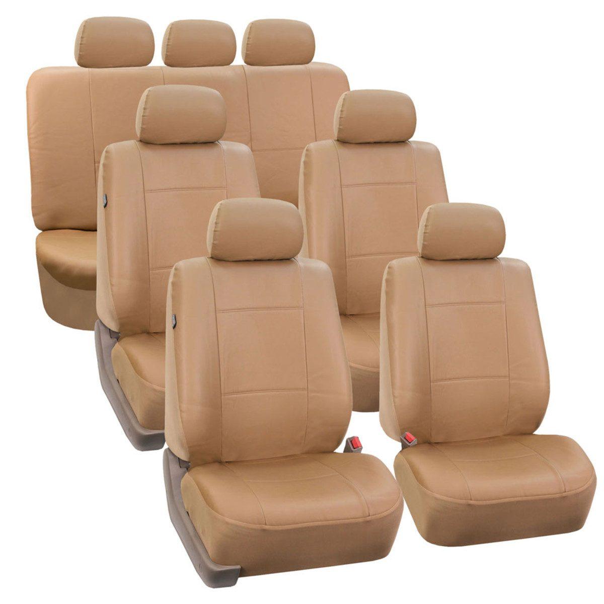 PU002217TAN seat cover
