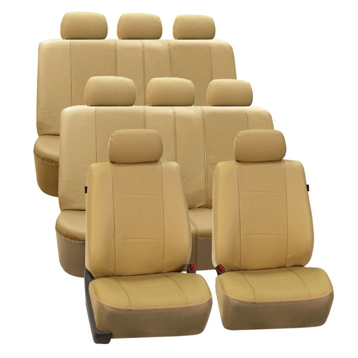 PU007128BEIGE seat cover