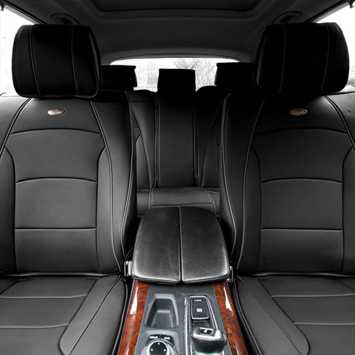 car seat cushions PU205115 solidblack 1