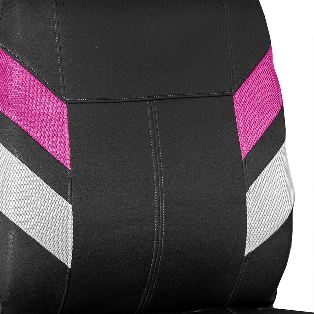 Modern Edge Neoprene Seat Covers Full Set - Pink material