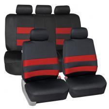 Neoprene Seat Cover Full Set FB087115 red 1