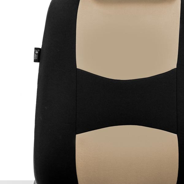 All-Purpose Built-In Seatbelt Seat Covers Front material