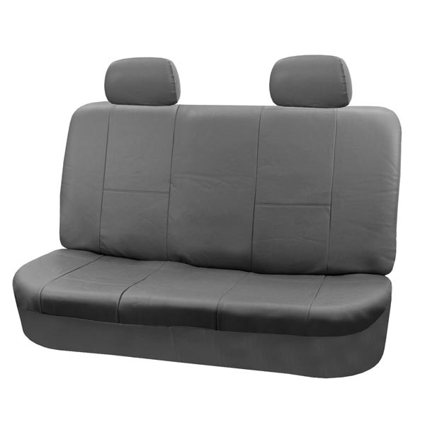 88-PU001012_gray bench seat cover 1