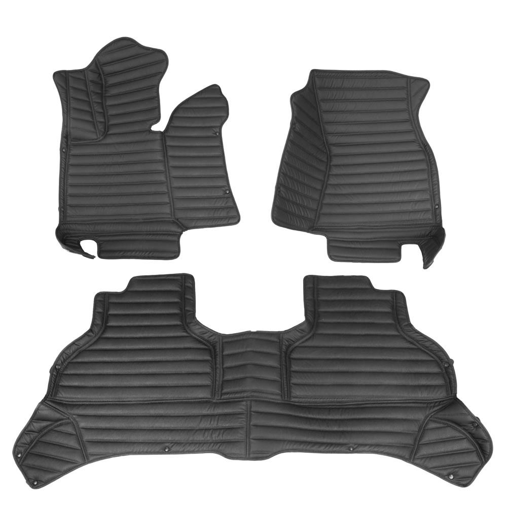 Custom Fit Leather Car Floor Mats For BMW X5 2013-2019