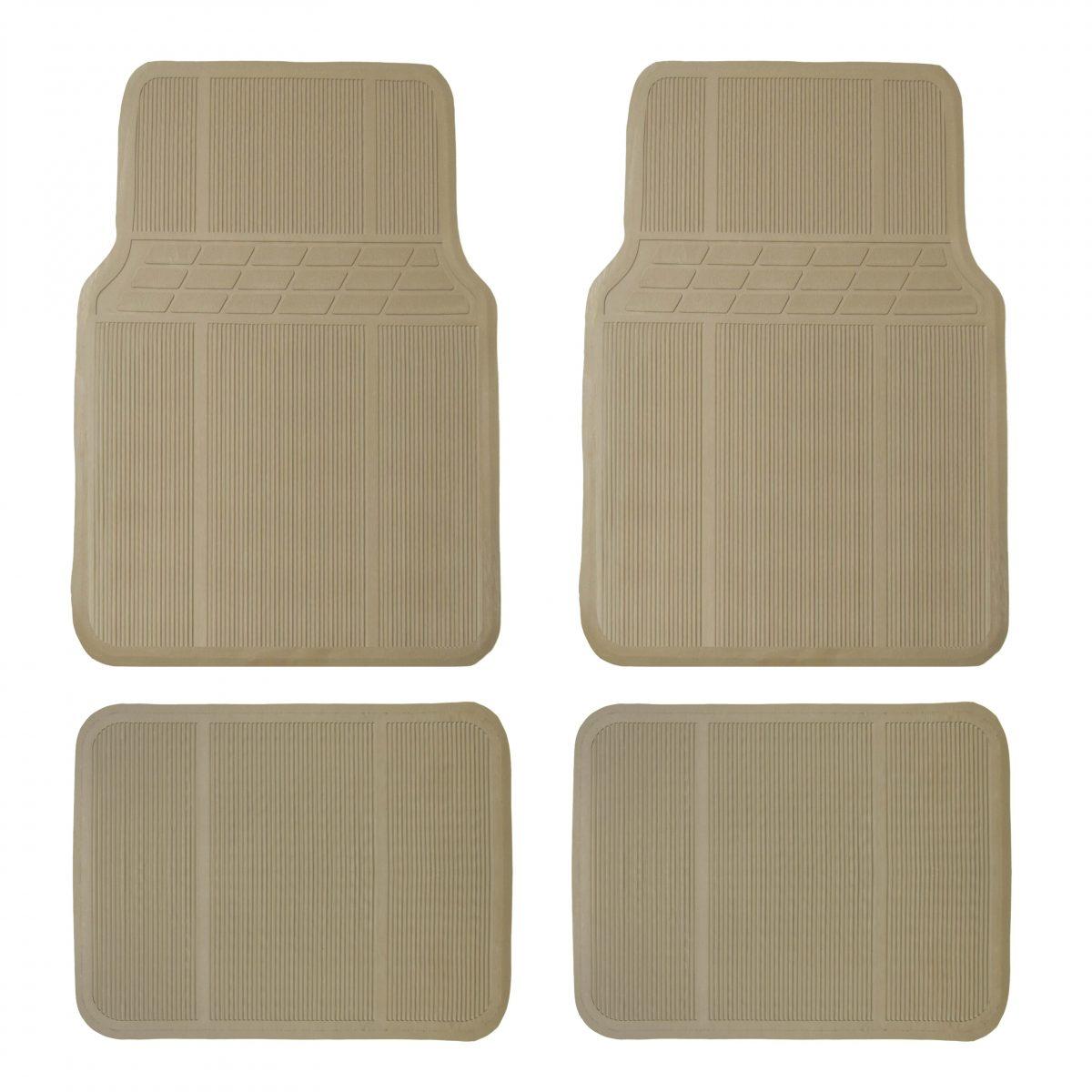 Protective Rubber Floor Mats F11303BEIGE New