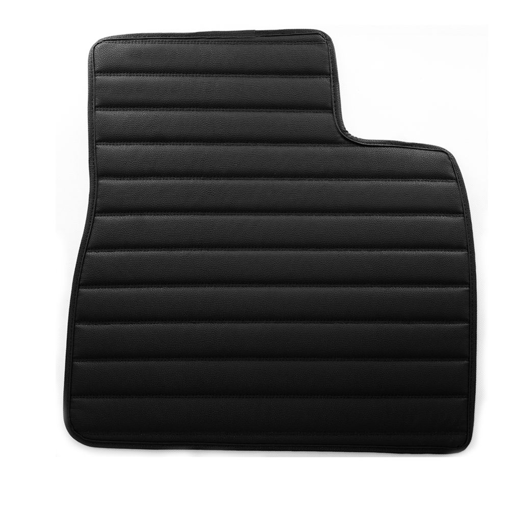 Custom-fit Heavy Duty Faux Leather Car Floor Mats for Audi Q7 2015–2019 material