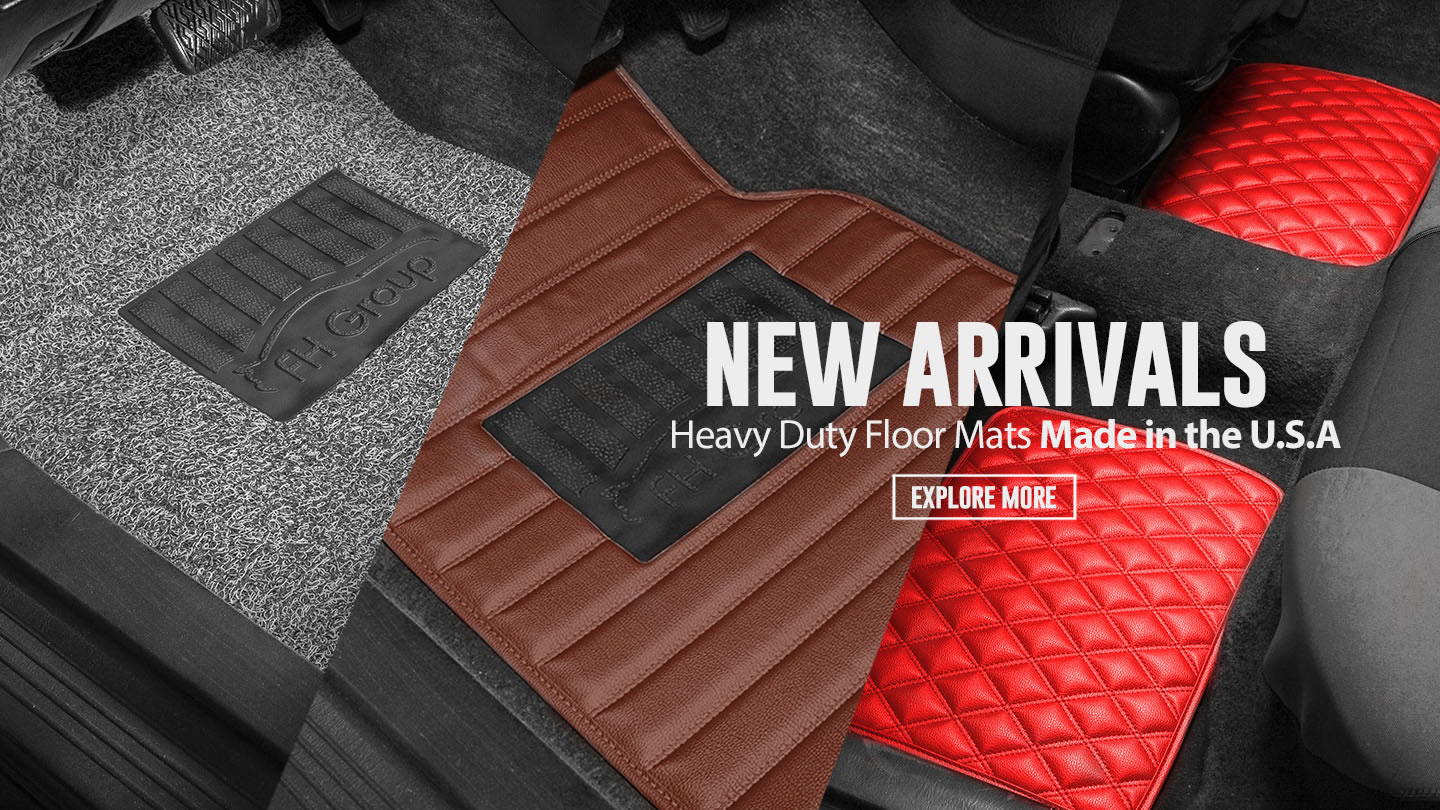 New Arrivals floormat