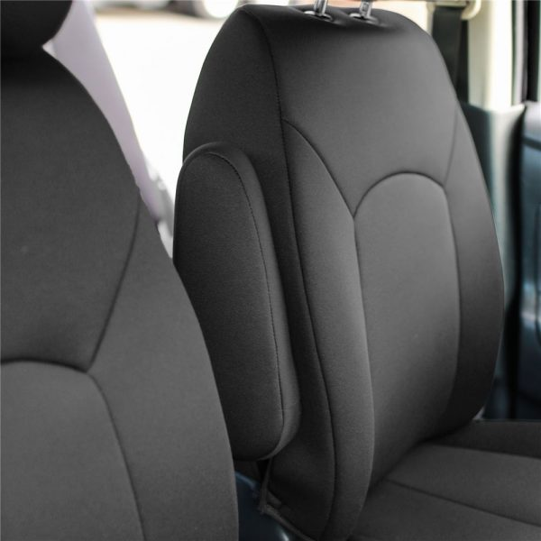 Neosupreme Custom Car seat covers for 2018 Nissan Versa Perfect Fit material