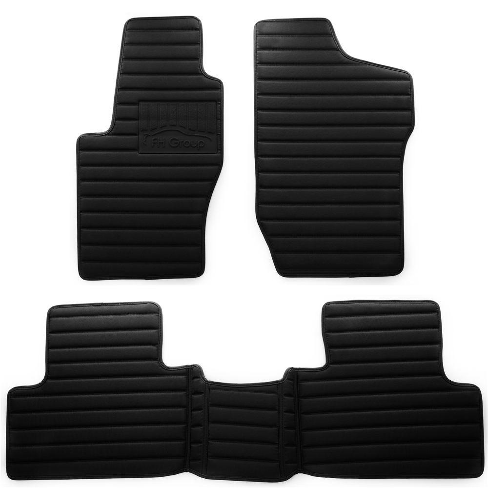 Black Coverking Custom Fit Front Floor Mats for Select Volvo 850 Models Nylon Carpet