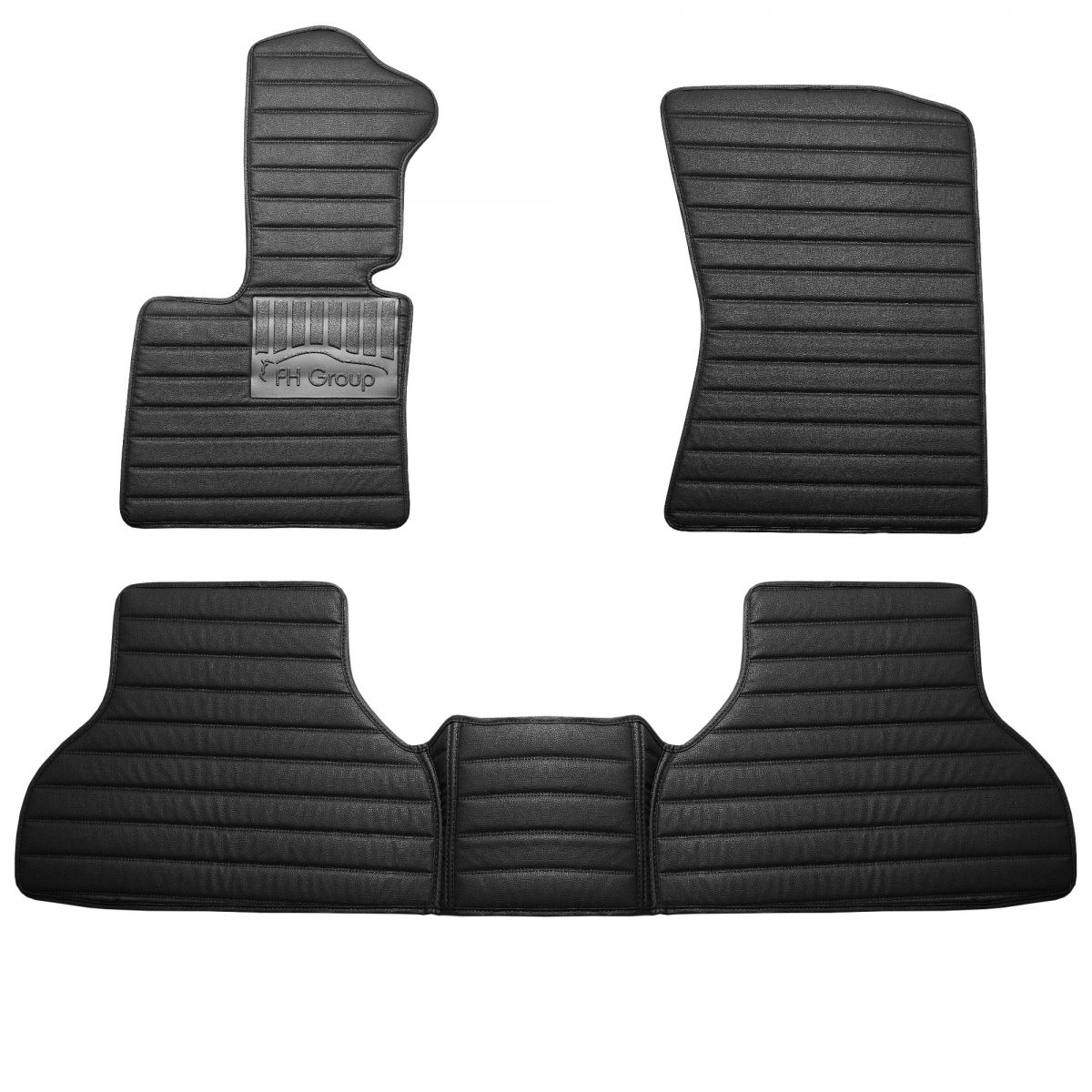 BMW X5 2013-2018 Custom-Fit Heavy-Duty Faux Leather Floor Mats 17