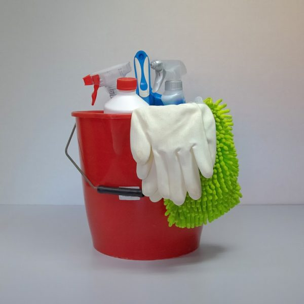 Clean Putz Bucket Cleaning Rags Frühjahrsputz