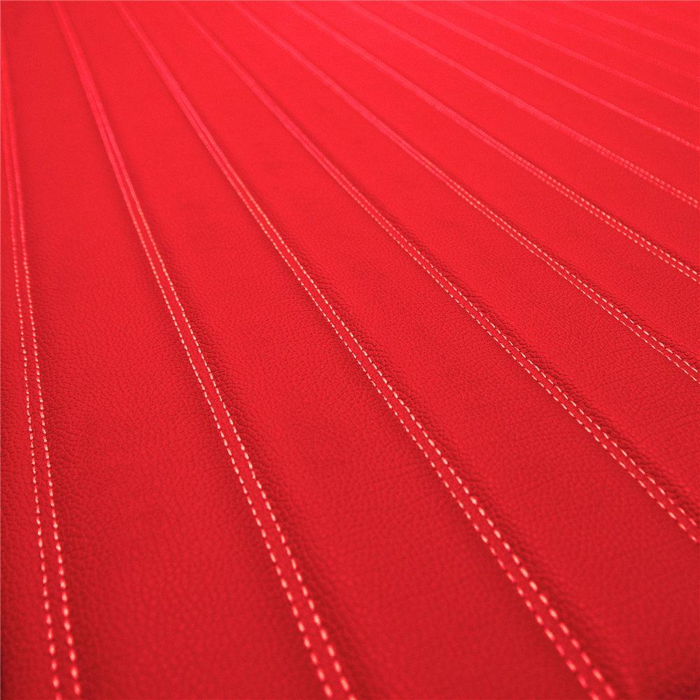 Deluxe Heavy-Duty Faux Leather Flat Stripe Multi-Purpose Cargo Liner material