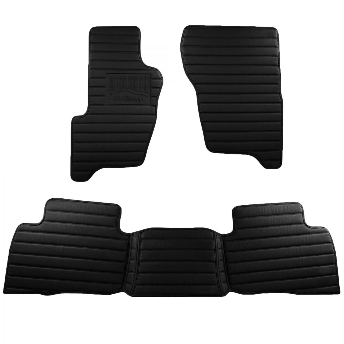 Land Rover Discovery 2009-2016 Custom-Fit Heavy-Duty Faux Leather Car Floor Mats 5