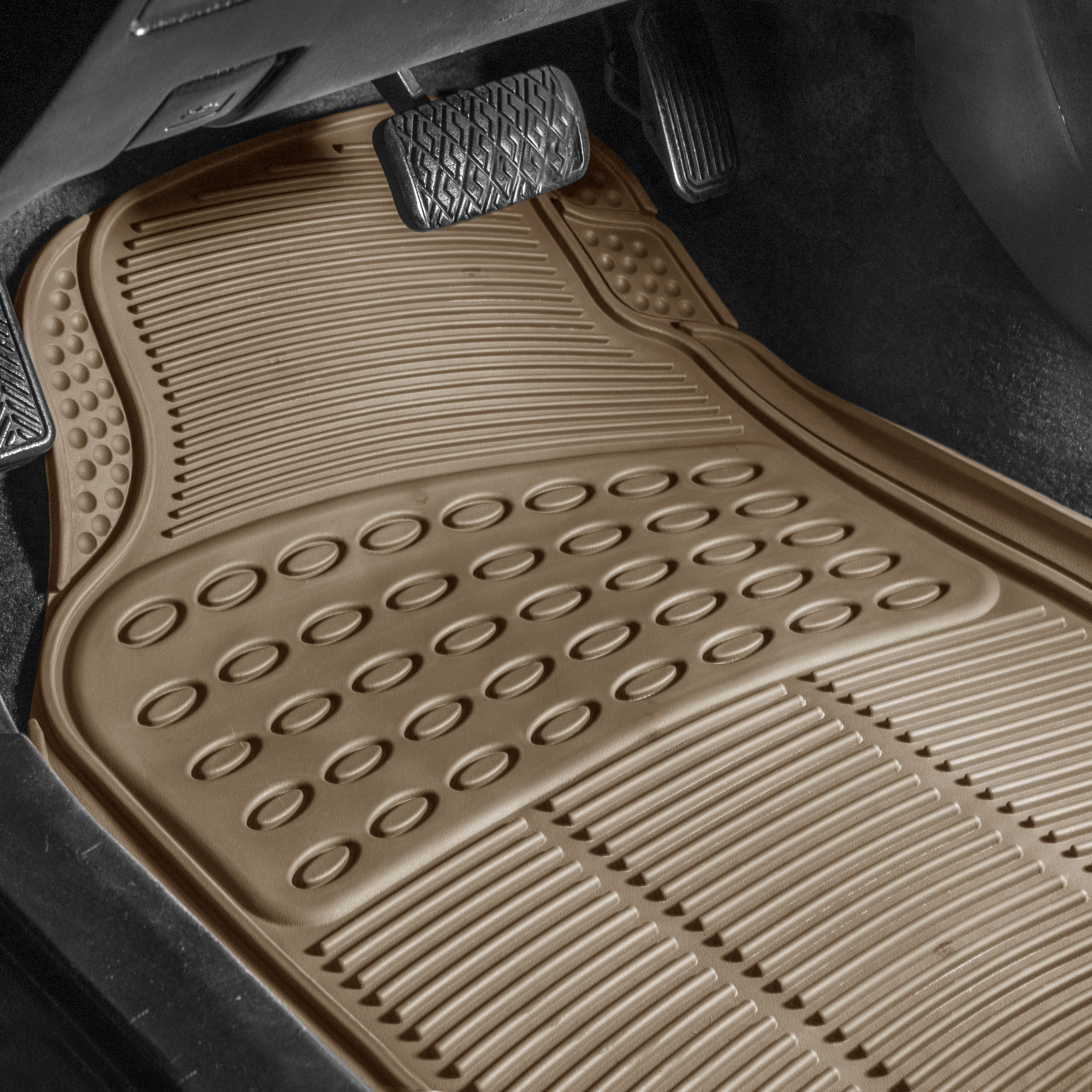 How to rid your car of offensive mildew and rubber floor mat odor F11305BEIGE driver