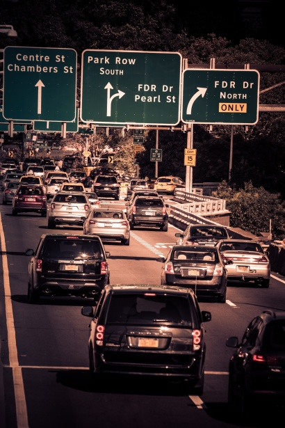 How to Survive your Morning Commute Traffic view
