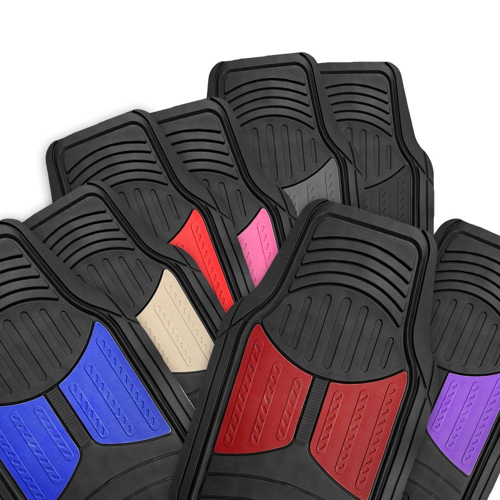 Trimmable Heavy Duty Rubber Floor Mats material
