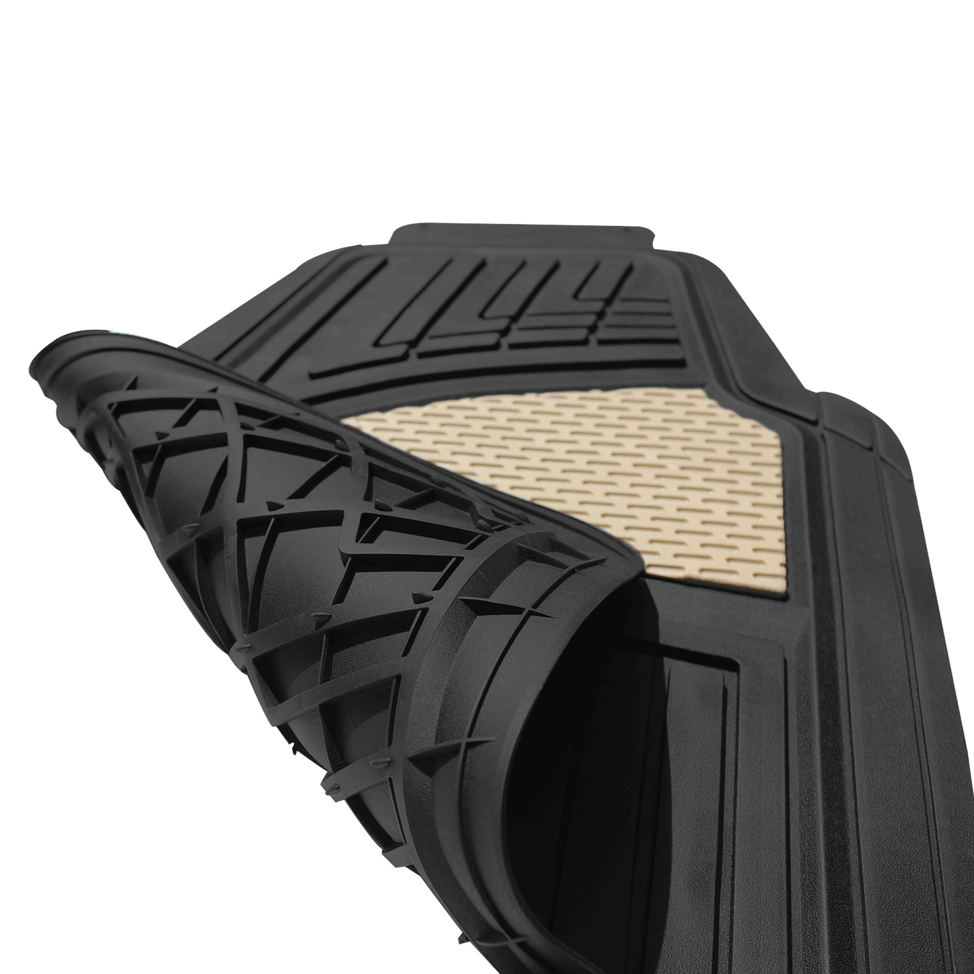 Trimmable Heavy Duty Tall Channel Floor Mats material
