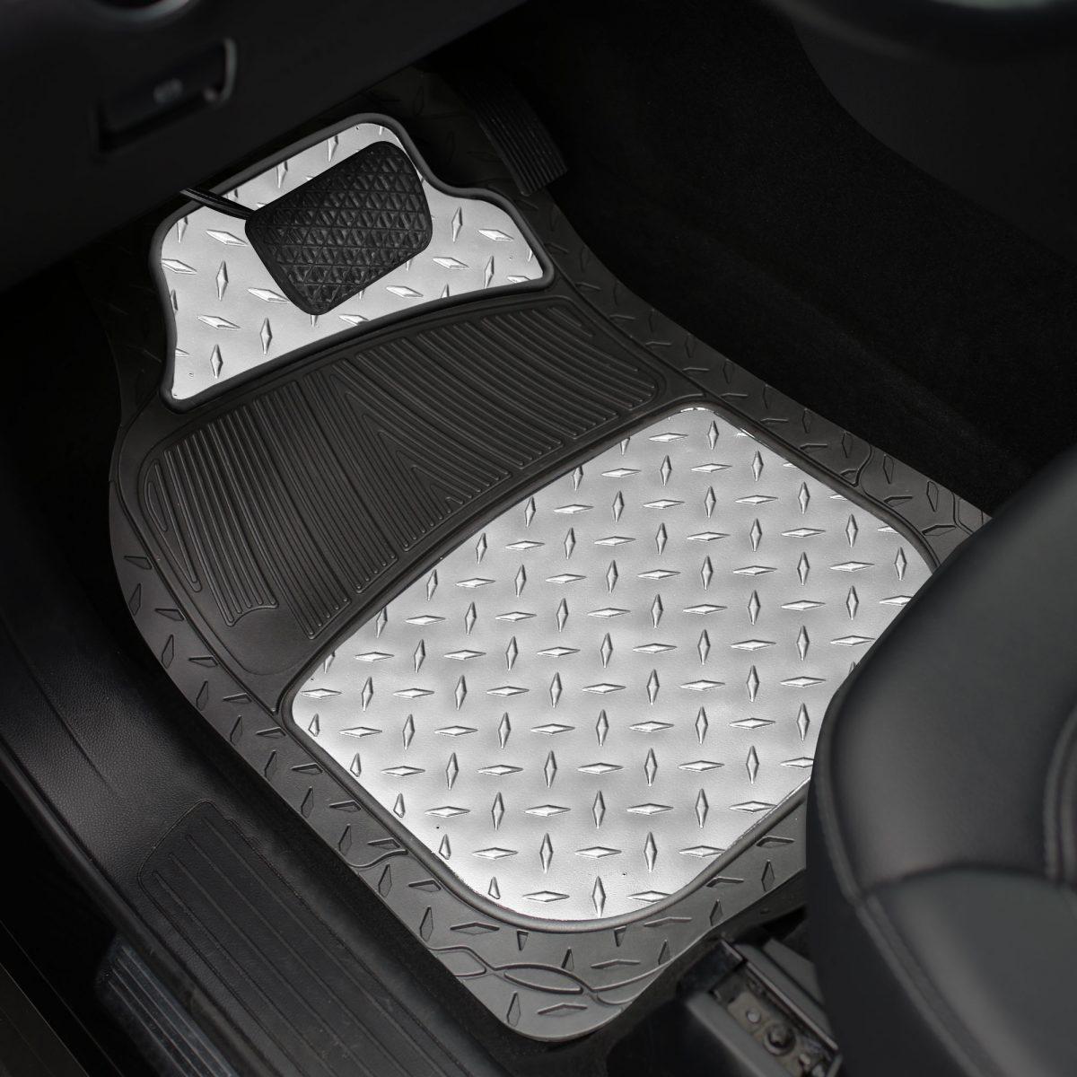 f11315_silver_interior car floor mats