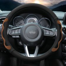 fh2010_brown_2 car steering wheel cover