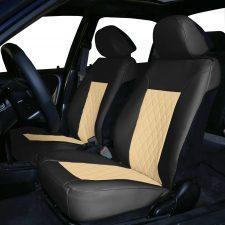 pu088102 seat covers beigeblack