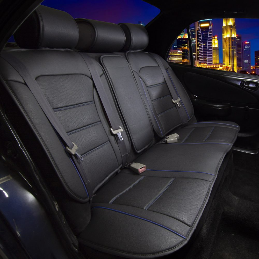 PU208 BlueRear 02 car seat covers