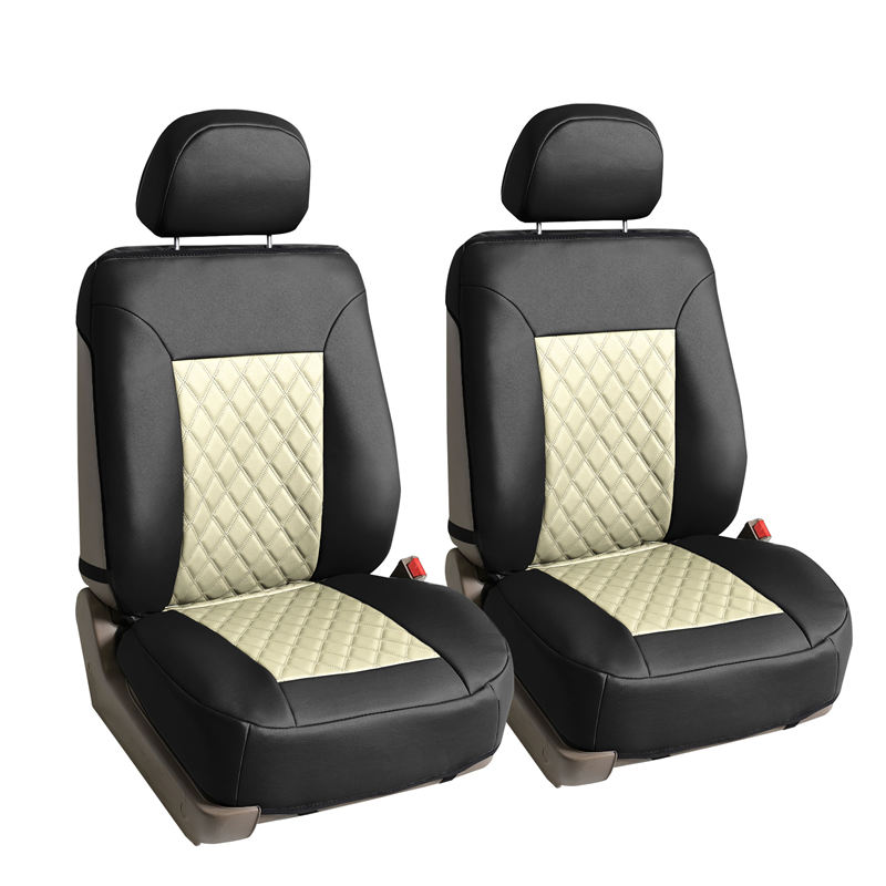 car seat cushion pu088beige 1