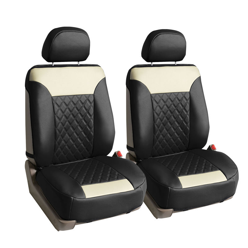 seat cushion pu089 beigeblack 1