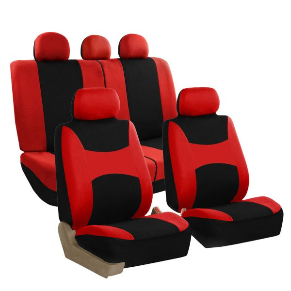 fb030red universal fit seat covers