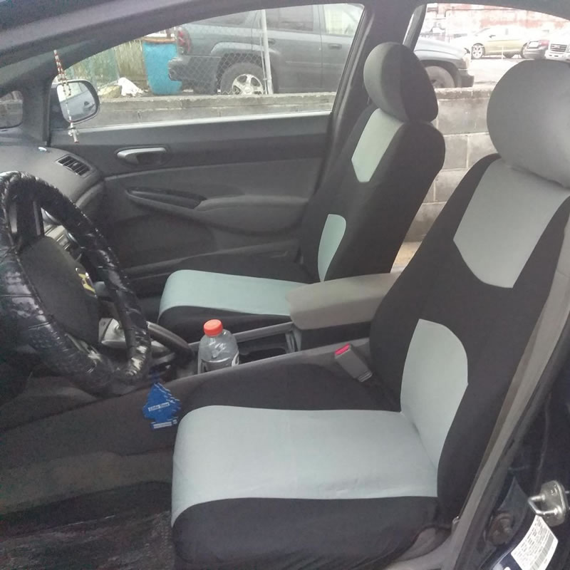 Mitsubishi L200 Full Set Heavy Duty Black Waterproof Car Seat Covers