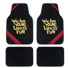 We Are Young Car Floor Mats