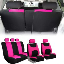 FB039115 pink seat covers 1