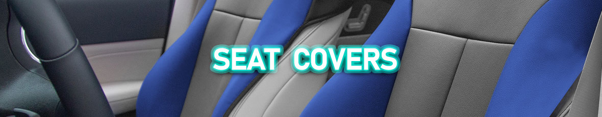 The banner for Seat Covers