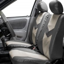 PU021gray seat covers