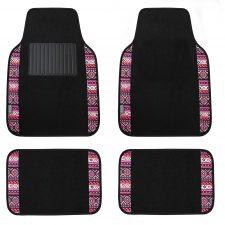 f14411l pink floor mat set
